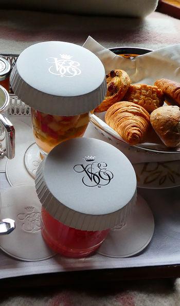 A Grand Suite breakfast aboard the Venice Simplon-Orient-Express
