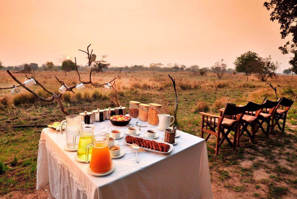 Breakfast, Chinzombo, South Luangwa National Park