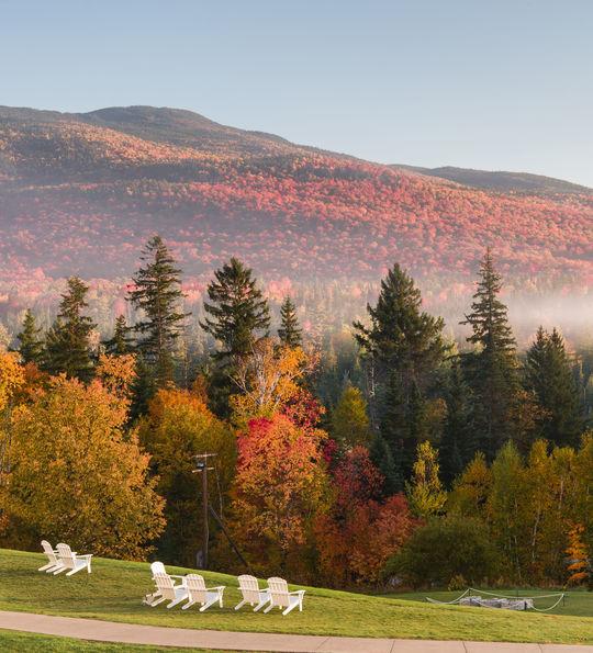 View from the Omni Mount Washington, Bretton Woods, White Mountains