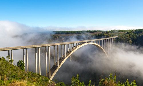 Bridge in Tsitsikamma National Park, South Africa