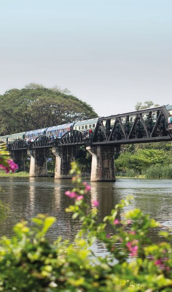 Bridge on the River Kwai, Eastern & Oriental Expressover