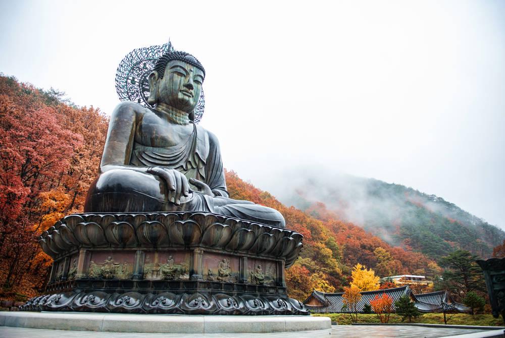 Sinheungsa Temple, Seoraksan National Park