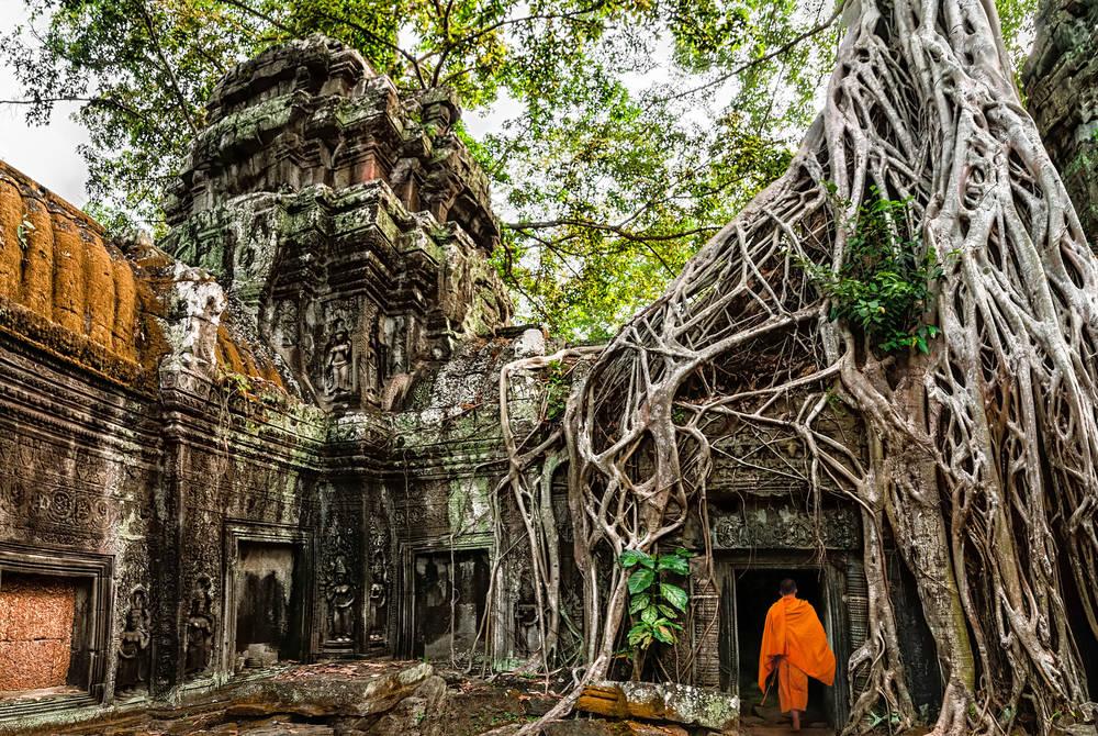 Ta Prohm near Angkor Wat