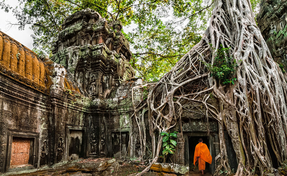 Ta Prohm temple, Siem Reap
