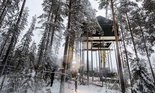 The Treehotel unveils its newest room