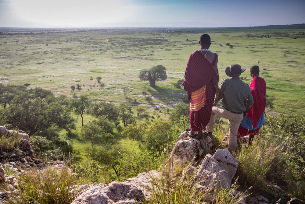 Bush walk, Elewana Tarangire Treetops
