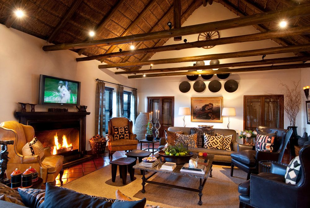 Bushman's Kloof Wilderness Reserve, Homestead Lounge
