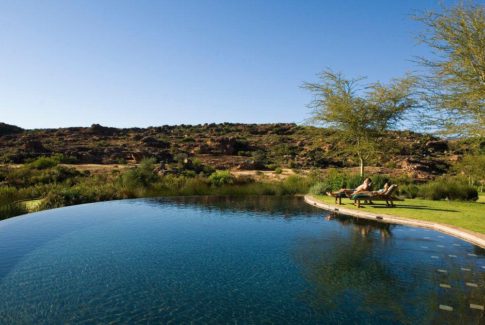 Bushman's Kloof Wilderness Reserve, Pool