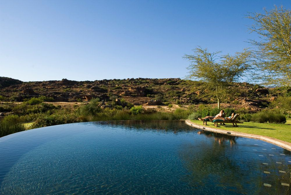 Bushman's Kloof Wilderness Reserve, Pool