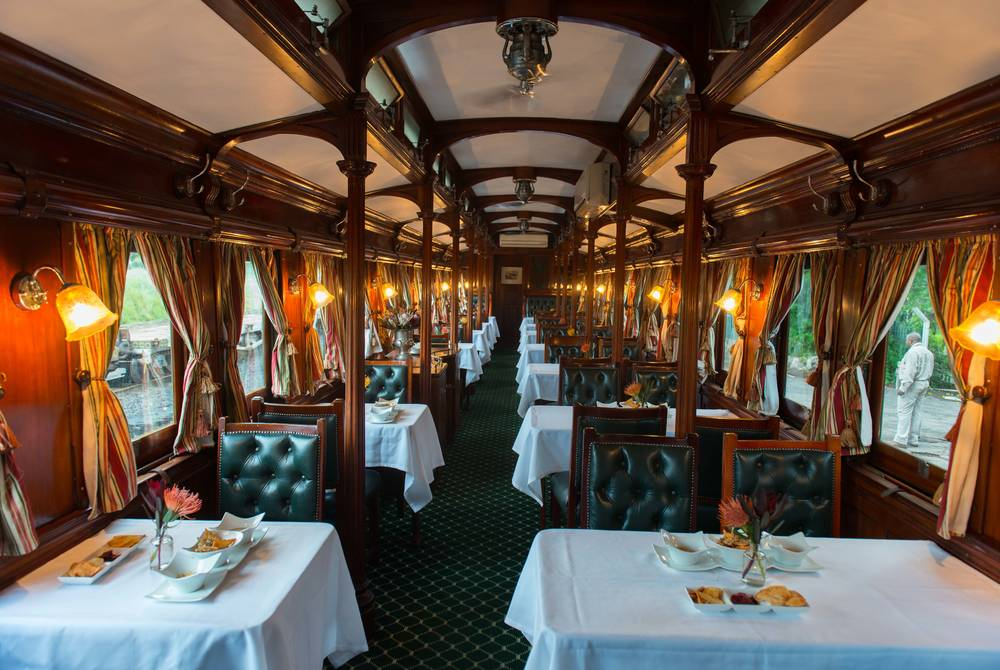 Bushtracks Express Train, Victoria Falls Hotel