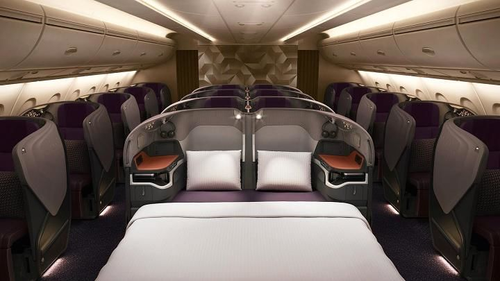 Business Class, Singapore Airlines
