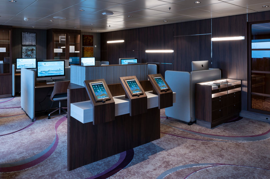 The Computer University at Sea on Crystal Serenity