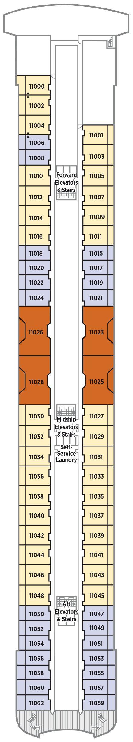 Deck 11 Penthouse Deck