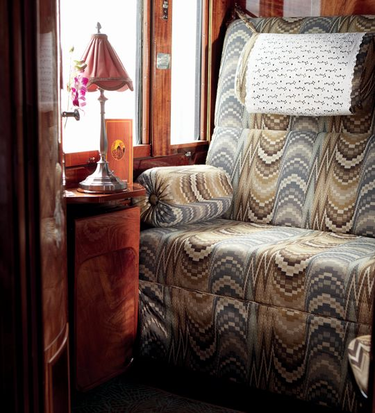 Venice Simplon-Orient-Express Twin cabin in the daytime