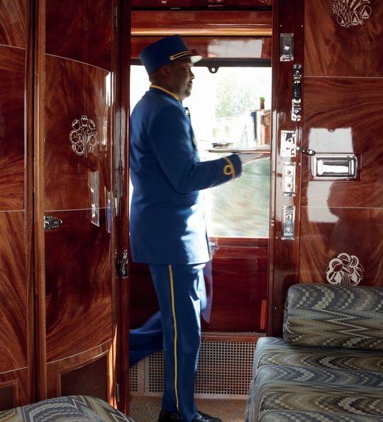 Service onboard the Orient Express