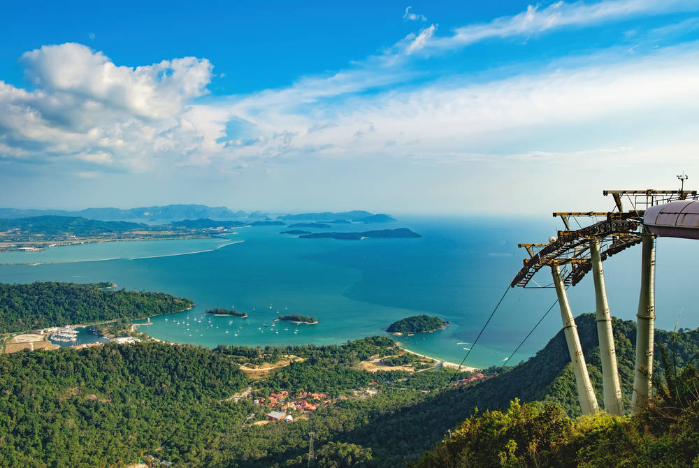 Cable Car on Langkawi island