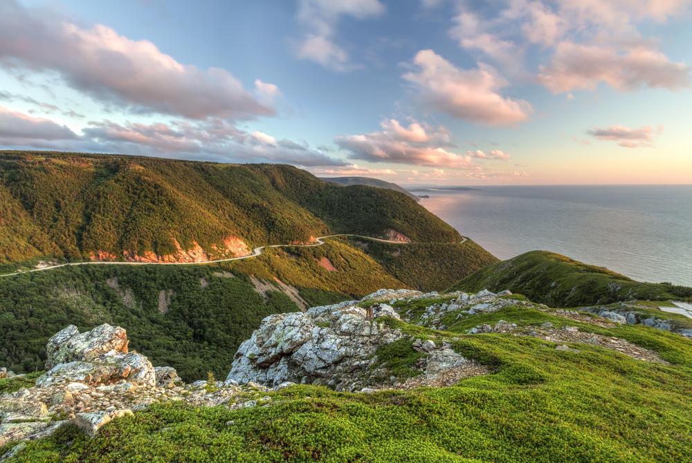 Coastline at Cape Breton, Nova Scotia