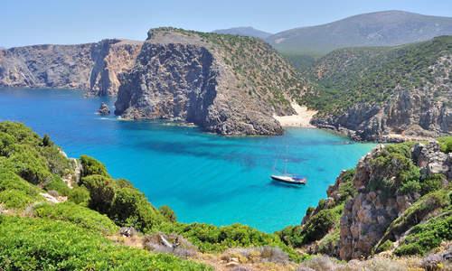 Cala Domestica beach, Sardinia, Italy