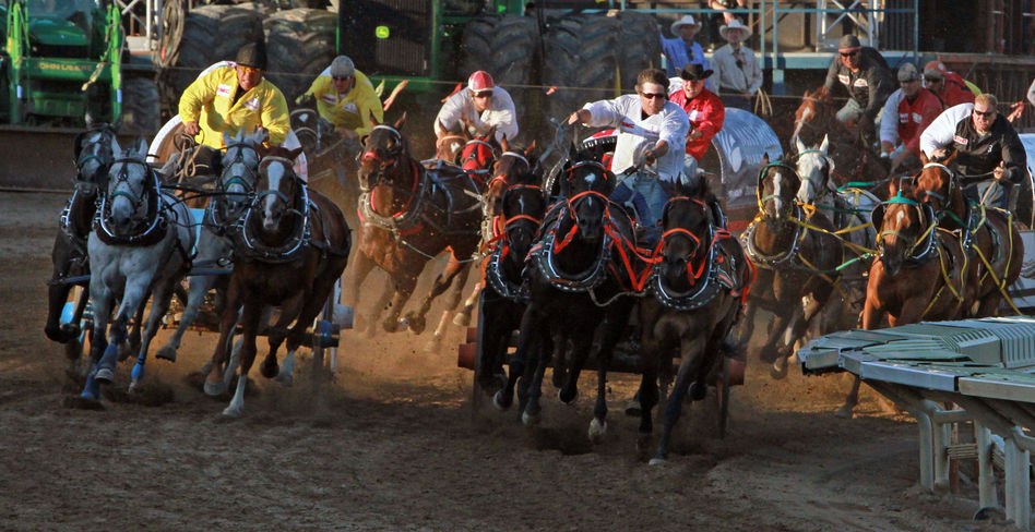 Image of the Calgary Stampede in Canada