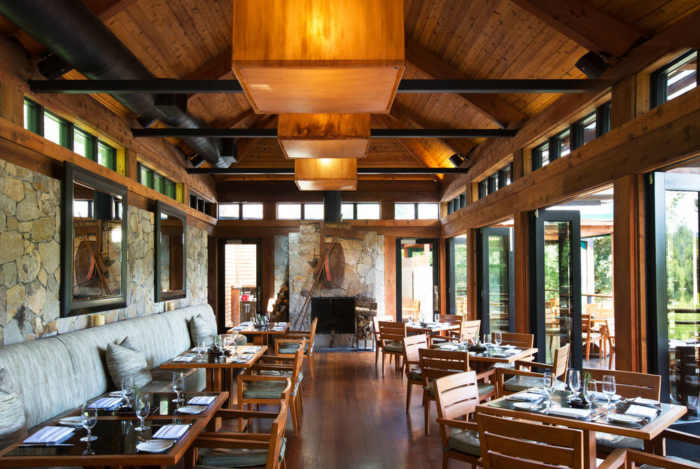 Lakeside restaurant, Calistoga Ranch, Napa