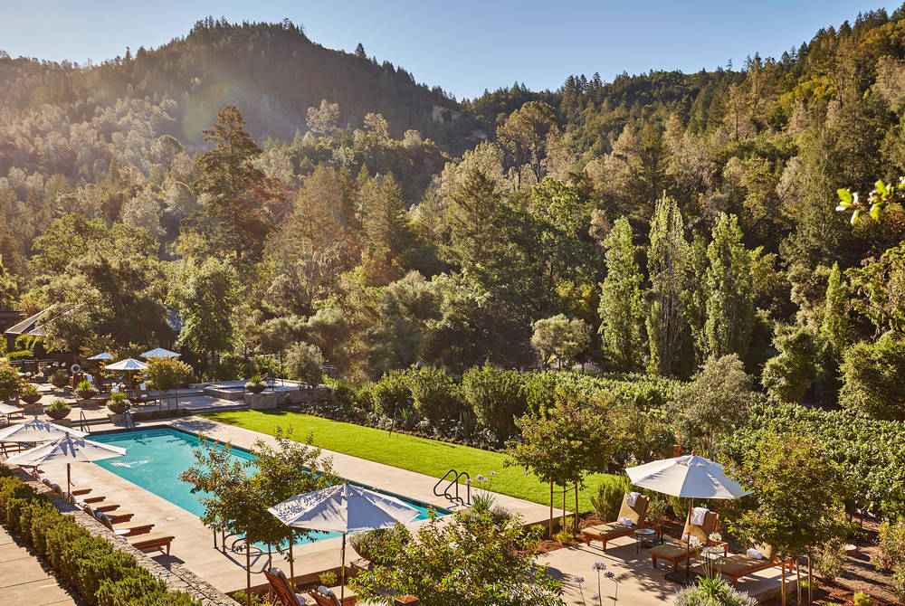 Pool, Calistoga Ranch, Napa