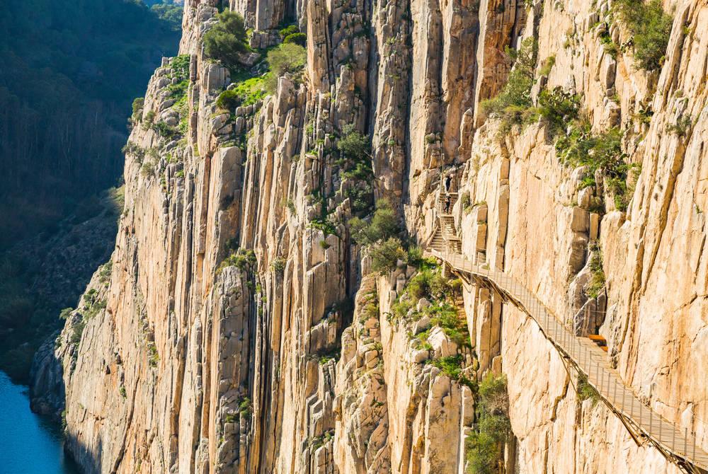 Caminito Del Rey mountain path, Andalucia