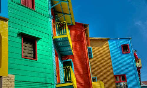 Caminito, La Boca, Buenos Aires, Argentina