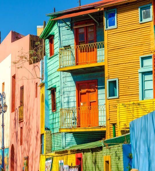 Caminito street, Buenos Aires, Argentina