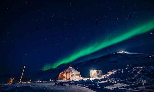 Camp Barentz (Credit: Agurtxane Concellon/Hurtigruten Svalbard)