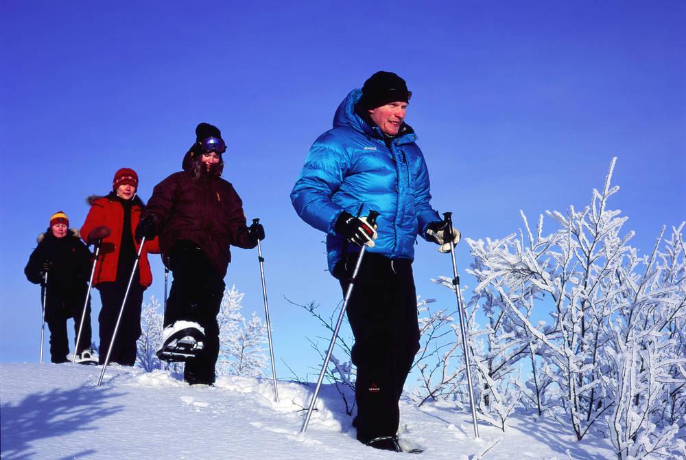 Camp Ripan Snowshoeing