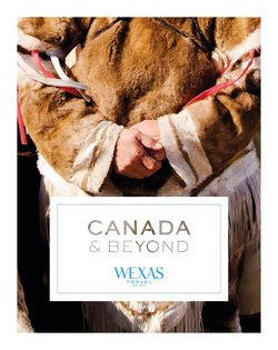 Cover for brochure Canada & Alaska
