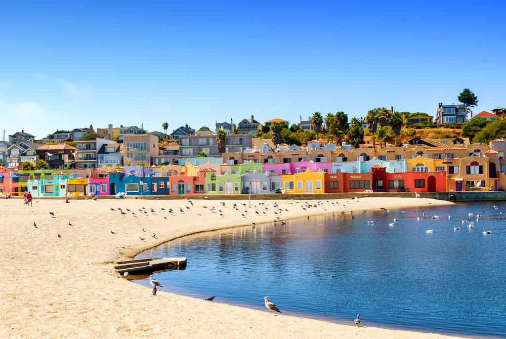 Capitola in Monterey Bay, California