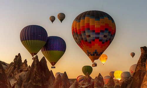 Morning ballooning Cappadocia