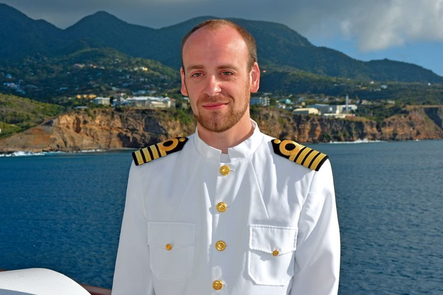 Captain James Griffiths, Scenic Eclipse