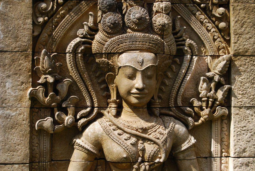 Carving Detail, Angkor Wat, Cambodia