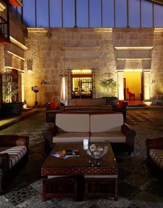 Casa Andina Premium Arequipa courtyard