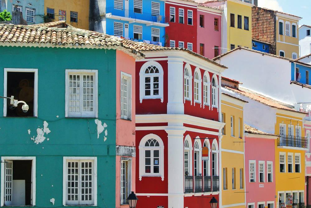 Casas Pelourinho, Salvador, Brazil