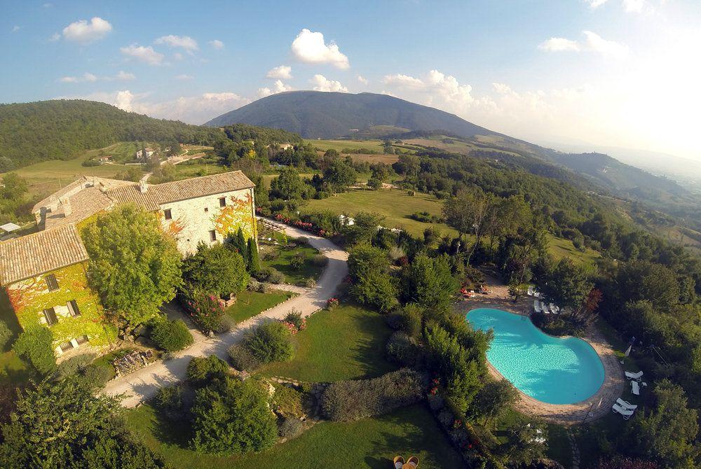 Castello Di Petrata aerial view