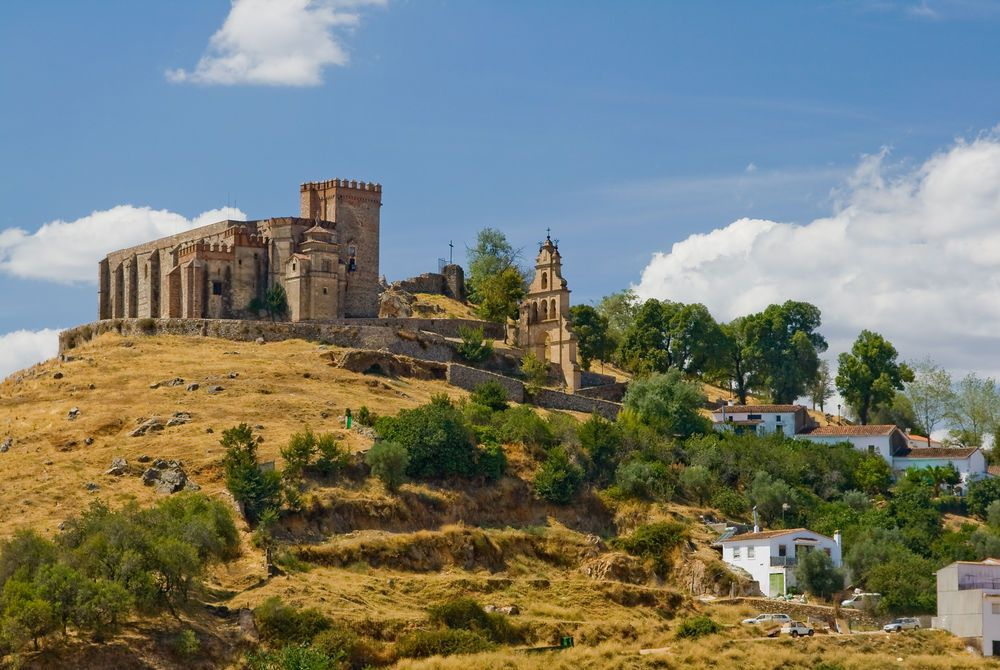 Castle of Aracena, Andalucia, Spain