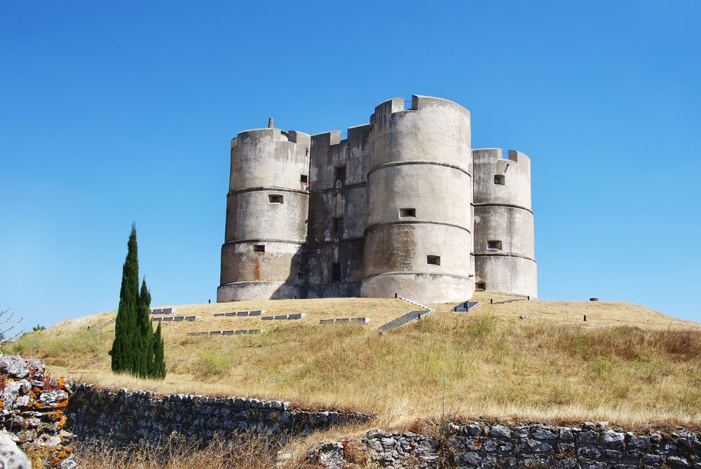 Castle of Evoramonte, Alentejo, Portugal