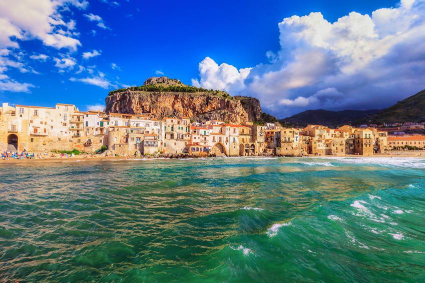 Cefalu in Sicily, Italy