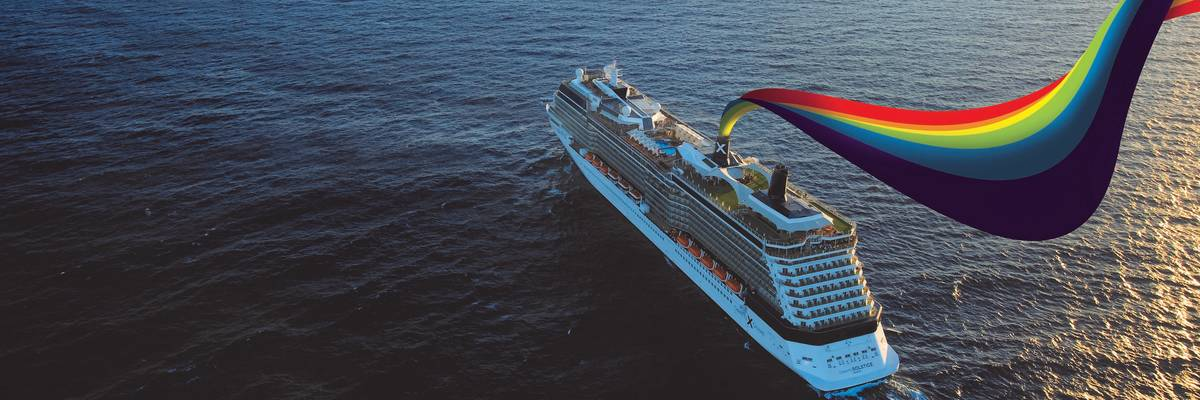 Pride Party at Sea on Celebrity Cruises