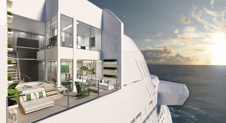 Twin-level Edge Villas on Celebrity Edge and Celebrity Apex