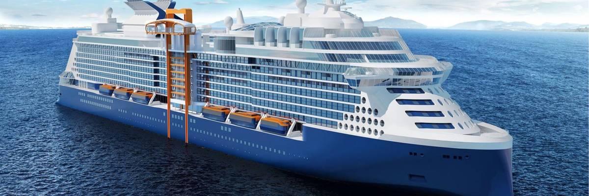 Celebrity Cruises cut steel on Celebrity Apex