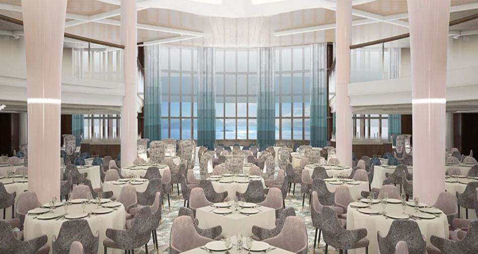 THE CELEBRITY REVOLUTION Main Restaurants design
