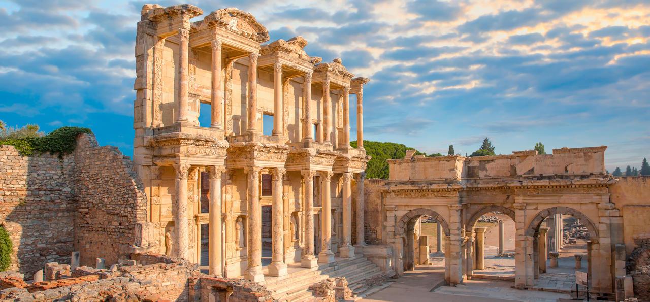 Celsus Library, Ephesus, Selcuk, Turkey