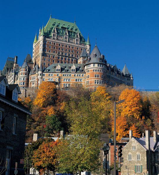 Château Frontenac, Québec City, Canada