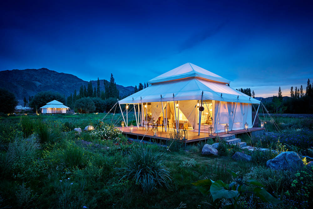 Chamba Camp Luxury Suite Tent