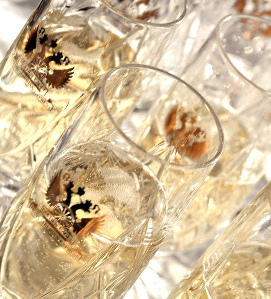 Champagne, Golden Eagle Trans-Siberian Express