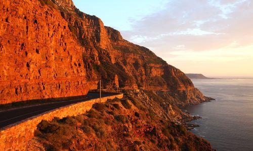 Chapman's Peak near Hout Bay, Cape Town